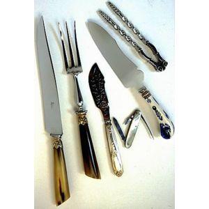 chromage d'un couteau lame anglaise
