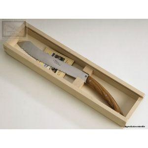 couteaux Jean Dubost, couteau a pain,le Thiers en olivier