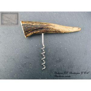 tire bouchon, Drouhin , manche 14cm en bois de cerf 9