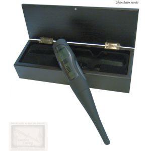 thermometre a vin, thermometre digital ,coffret bois