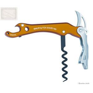 couteau sommelier, fox,modele vinum, orange