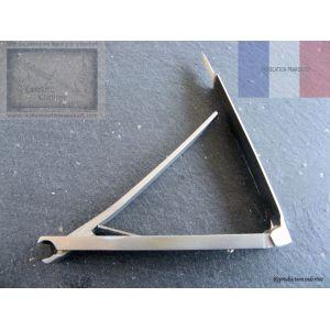 Coupe ongles de Nogent, coupe ongles en  inox de 10 cm