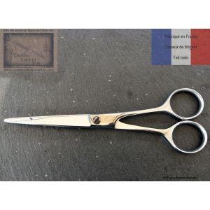 Ciseaux de Nogent coiffeur droit 17 cm