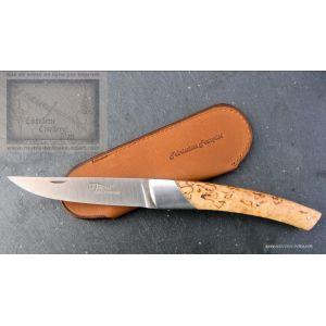 Couteau Chambriard compact en bouleau