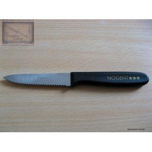 Lot 12 couteaux office Nogent 3 étoiles,classic,lame crantée 9cm