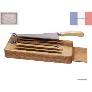 coupe pain, Roger Orfevre, en bois blanc verni