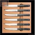 Coffret 6 couteaux de table  888 Perceval en carbone