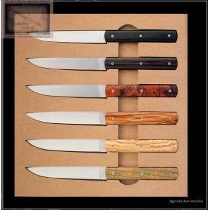 Coffret 6 couteaux 888 Perceval bois panache