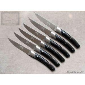 Couteau de table le Thiers Chambriard, manche en ebene
