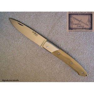 couteau le Bitord de David Ponson,manche en buis
