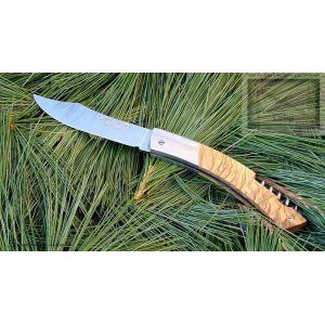 couteau MC Cognet, le Thiers TB manche en bois bouleau,lame carb