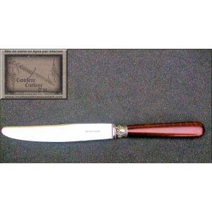 couteau,manche anglais, en bois d'amourette,